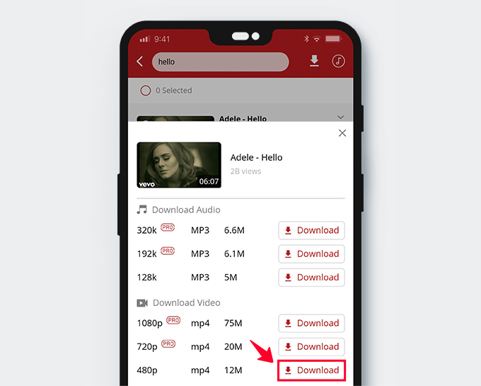 Download YouTube videos with AnyUTube