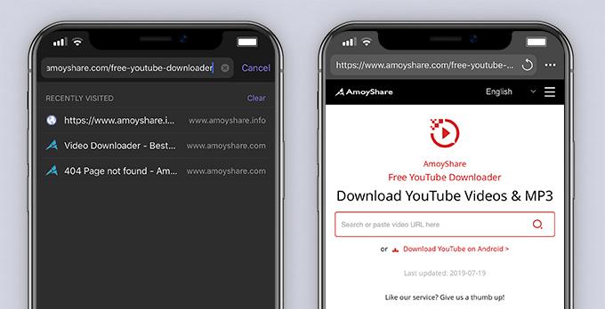 AmoyShare Kostenloser YouTube Downloader