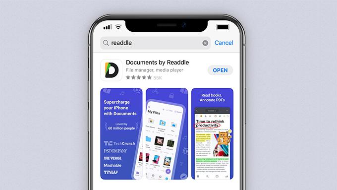 المستندات من Readdle على App Store