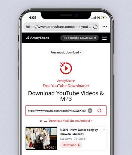 YouTube playlist url search