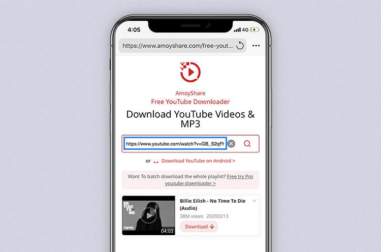 Suchen Sie mit dem kostenlosen YouTube Downloader nach YouTube-Musik