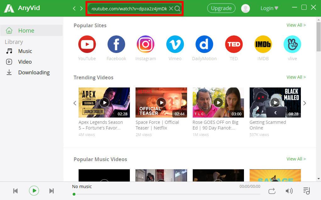 ابحث عن فيديو فايرفوكس