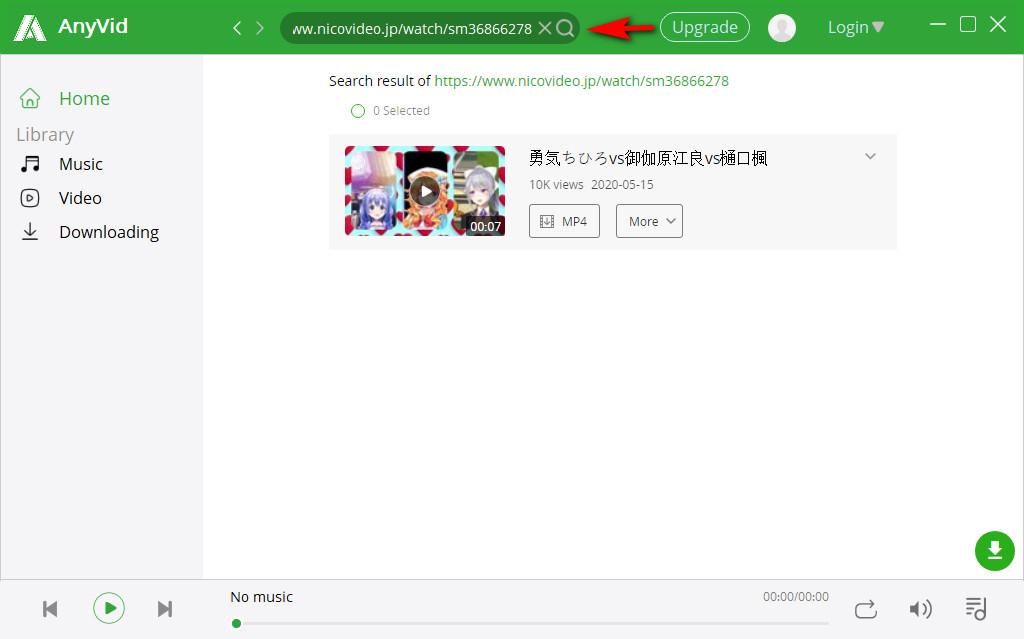 Suche nach Niconico Video