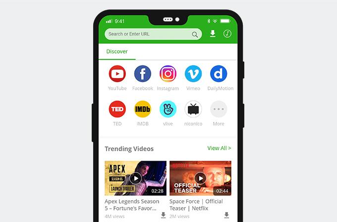 AnyVid su Android