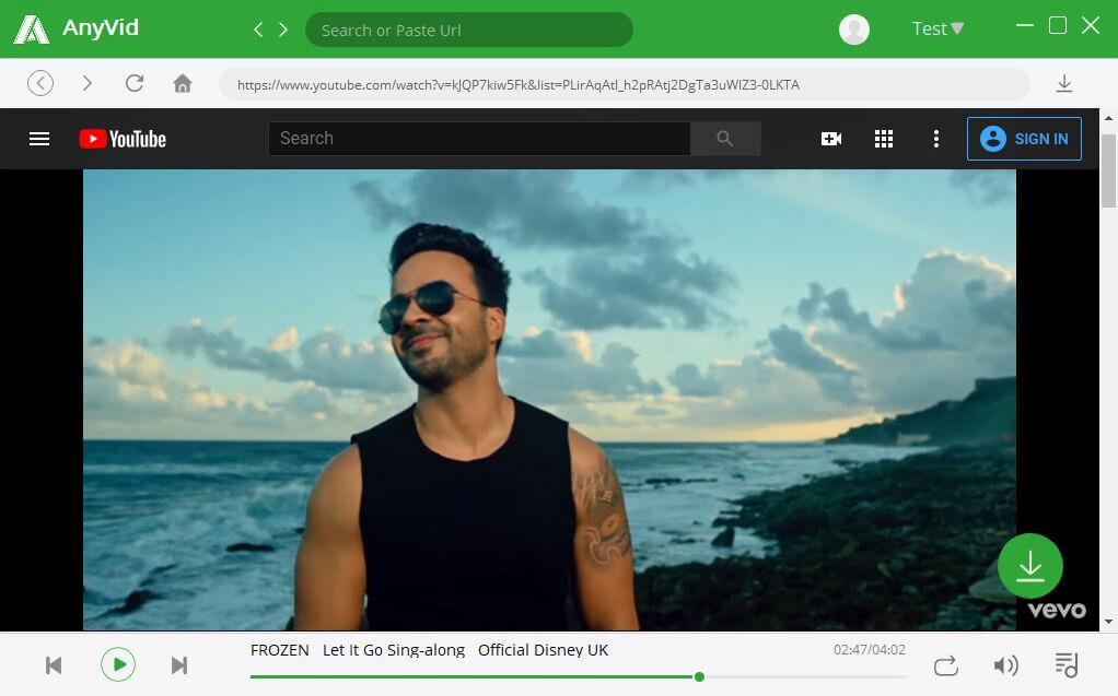 Trova video di Vevo su YouTube