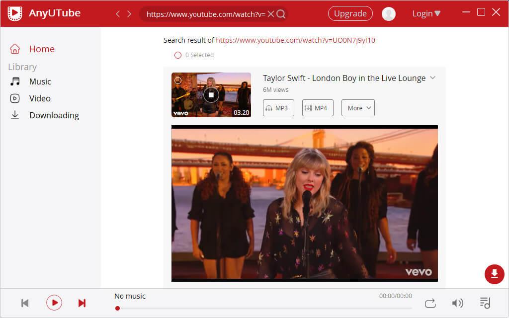 Sehen Sie sich YouTube-blockierte Videos auf AnyUTube an