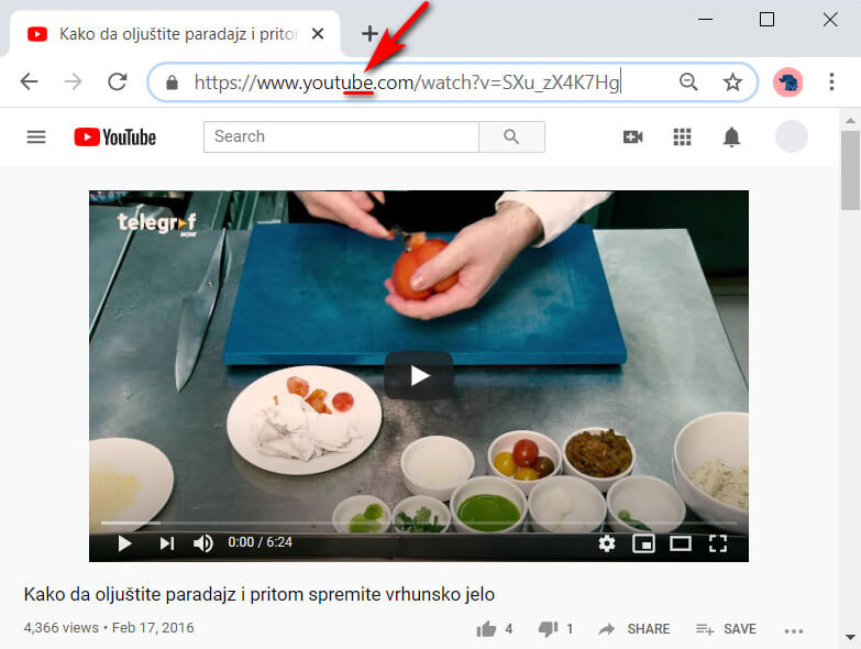 YouTube-Videolink