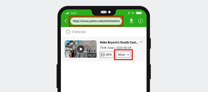 Cerca video di Yahoo
