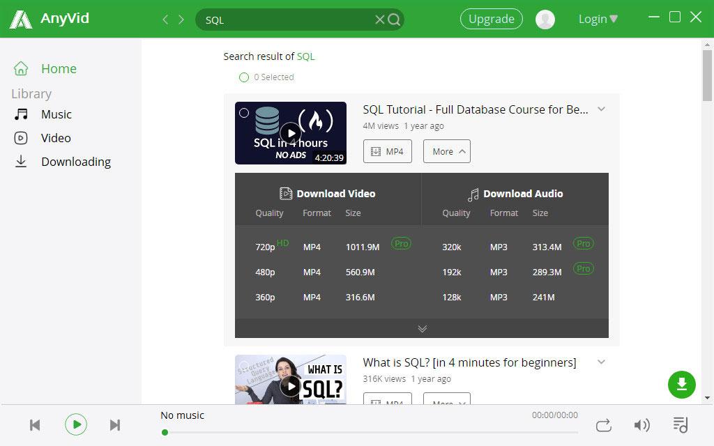 Laden Sie Kurse oder Videos mit AnyVid herunter