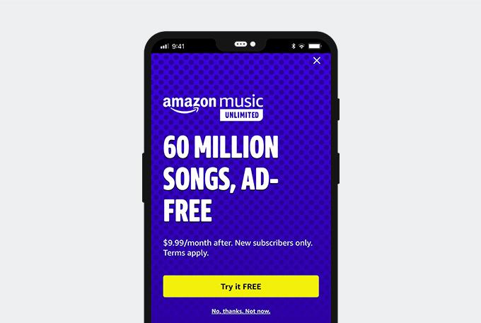 Amazon Musik unbegrenzt