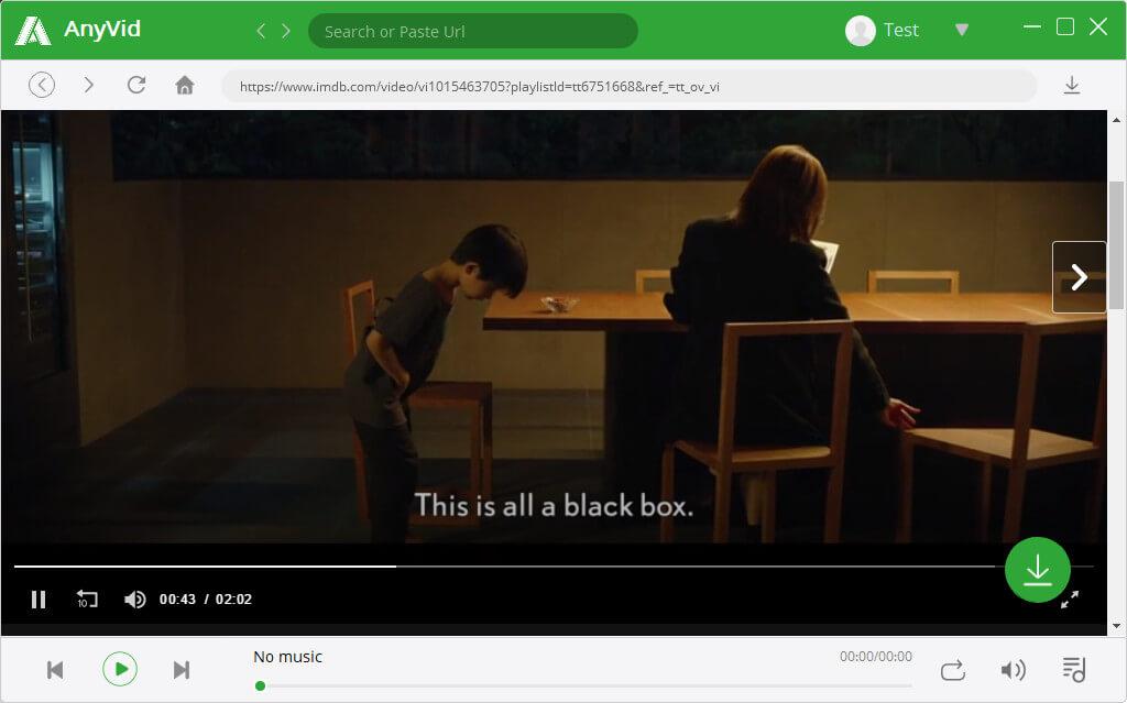 Scarica il film IMDb su AnyVid