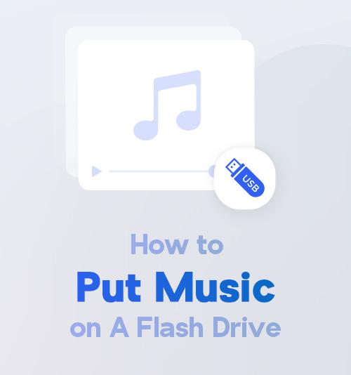 كيفية وضع الموسيقى على محرك أقراص فلاش
