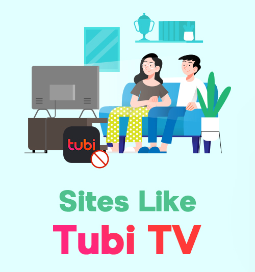 Websites wie Tubi TV
