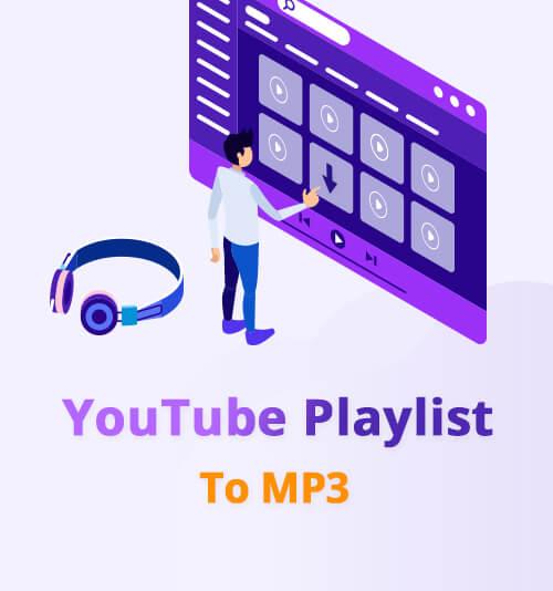 يوتيوب قائمة التشغيل إلى MP3