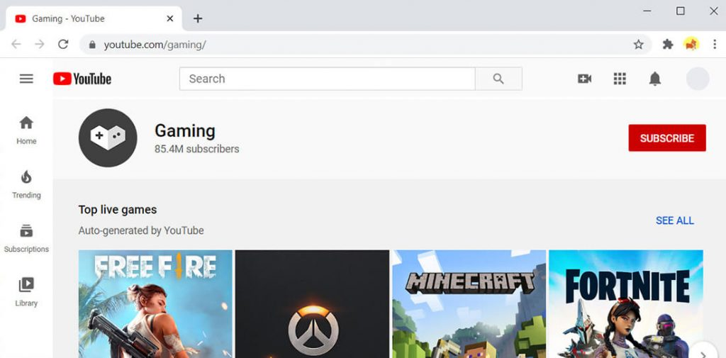 YouTube Gaming - Alternative zu Twitch