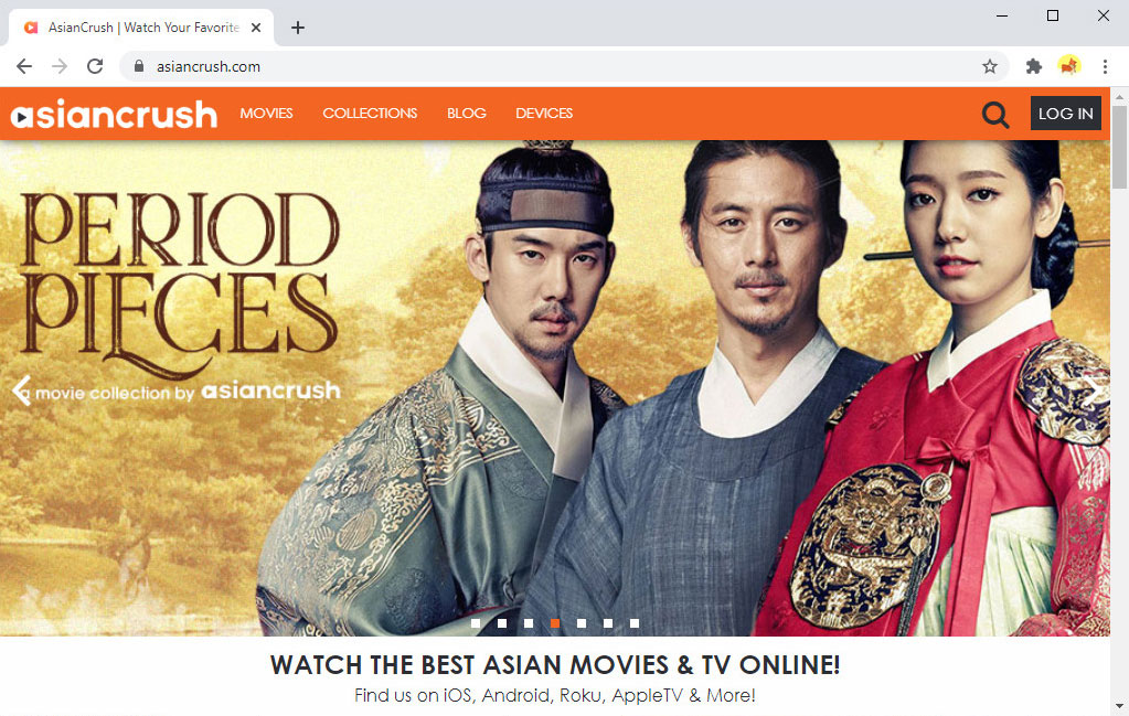 Korean drama website - AsianCrush