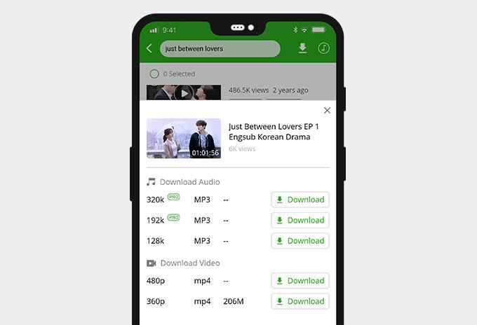 Download Korean drama on Android