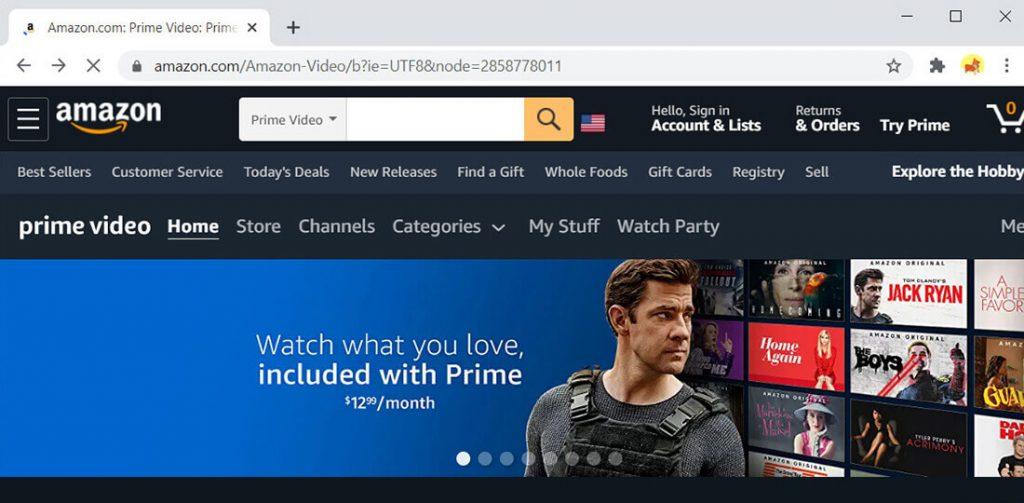 Amazon Prime Video - Alternative zu Hulu