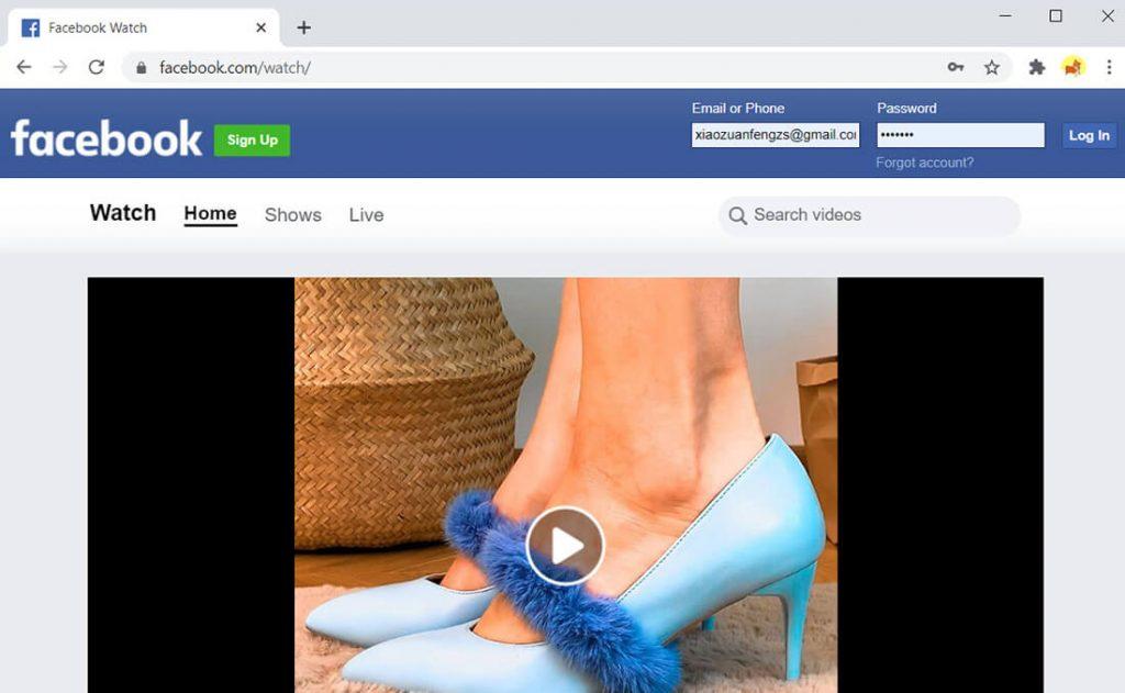 Facebook Watch - بديل Twitch