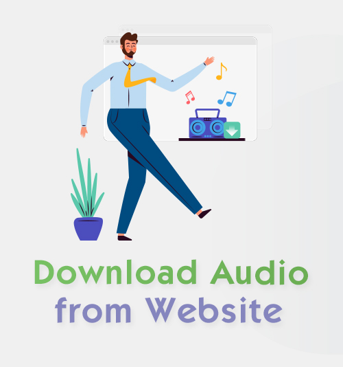 Download Audio from Website