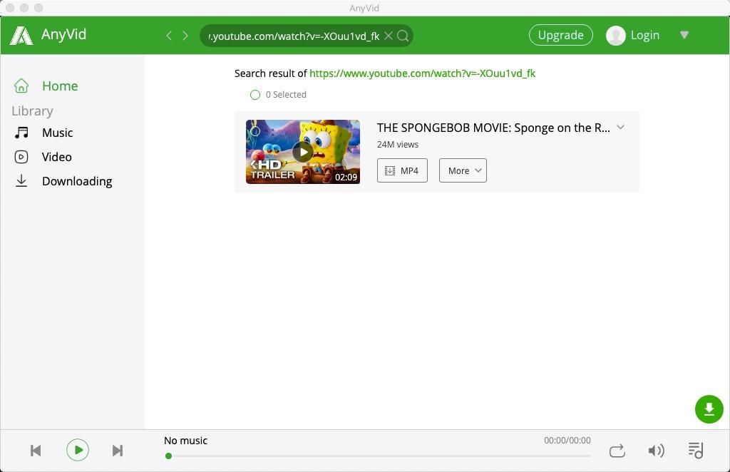 リンクでYouTube動画を検索