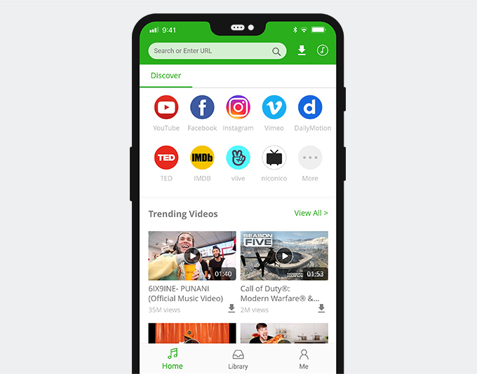 Android Social Media Downloader