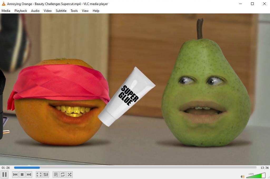 مشغل فيديو لويندوز - VLC Player