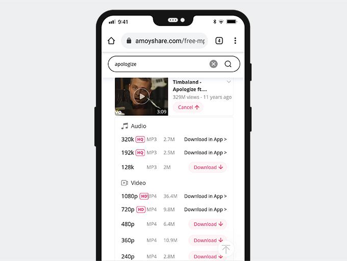 Scarica musica su Android con Free MP3 Finder