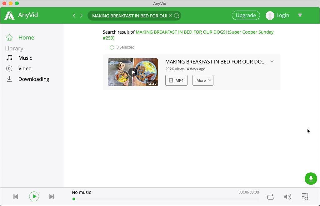 Suchen Sie auf dem Mac nach einem Video