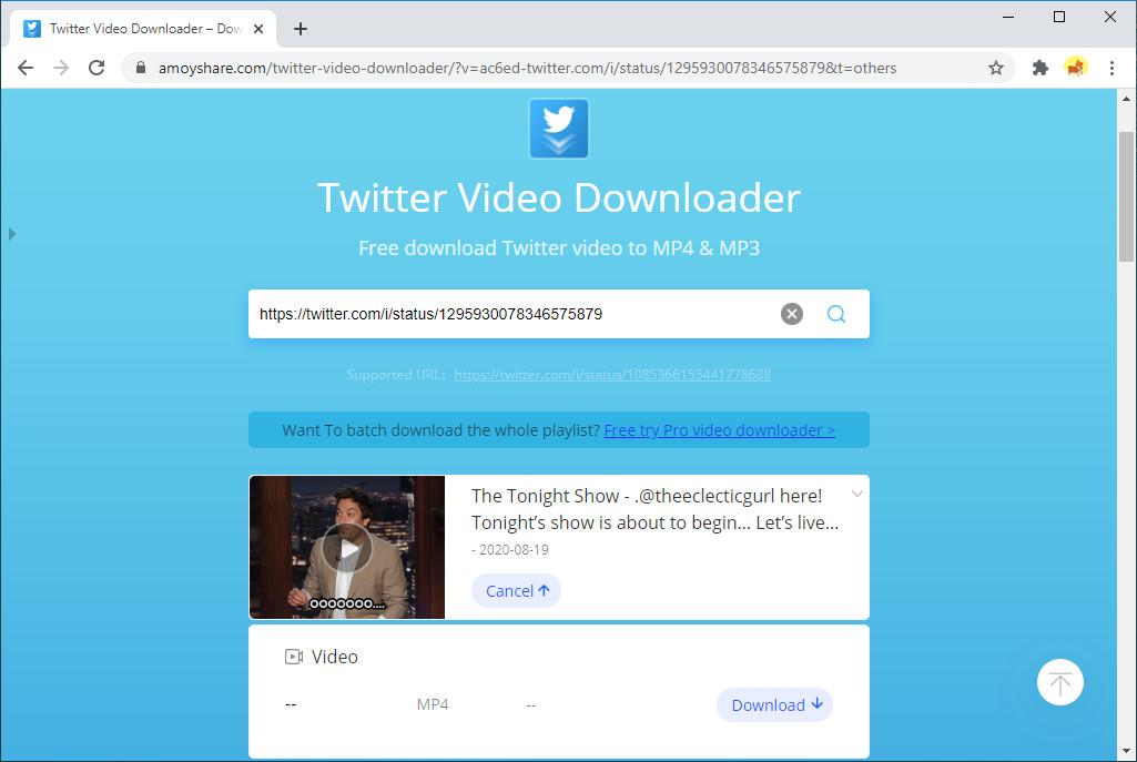 Holen Sie sich Twitter GIF-Download