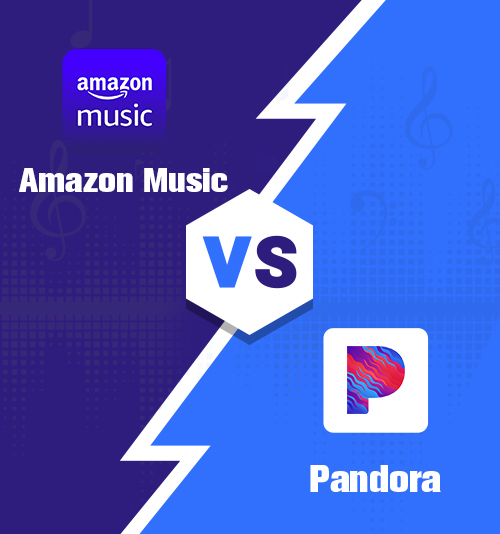 Amazon Music gegen Pandora