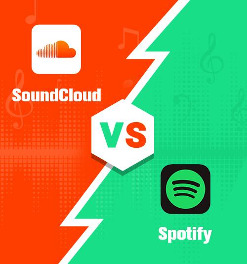 SoundCloud gegen Spotify