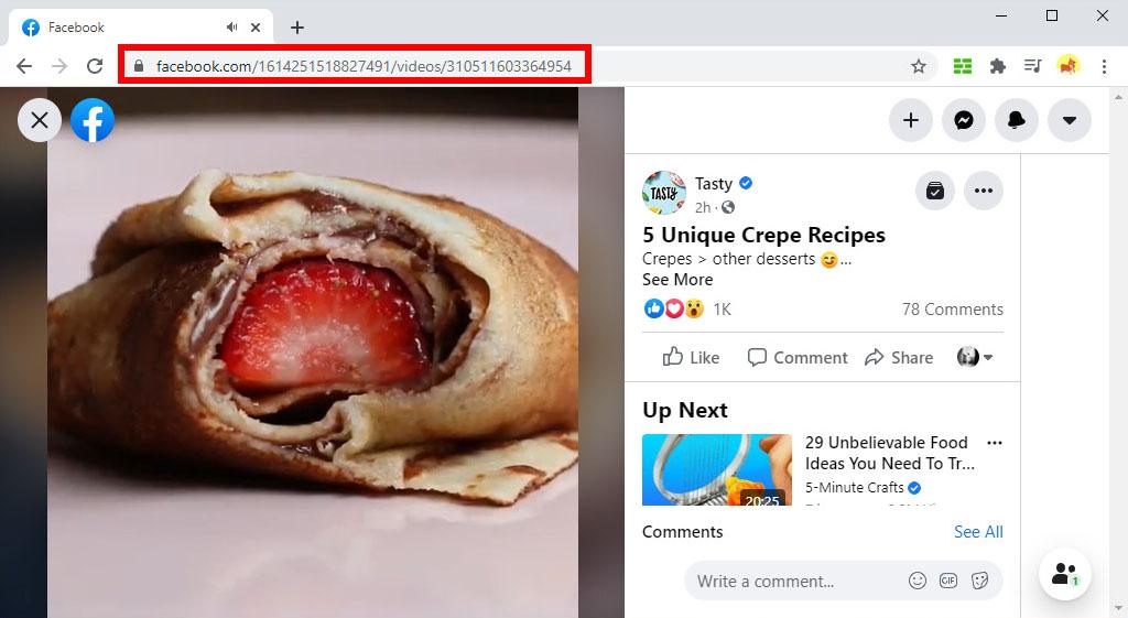 FB-Link kopieren
