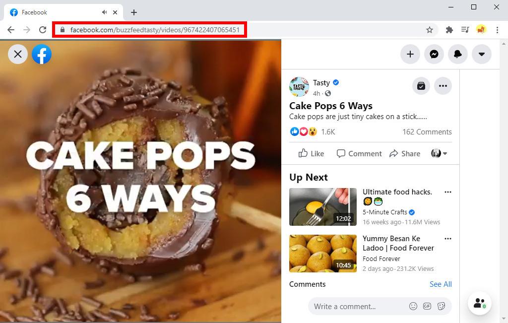 Facebook-Link kopieren