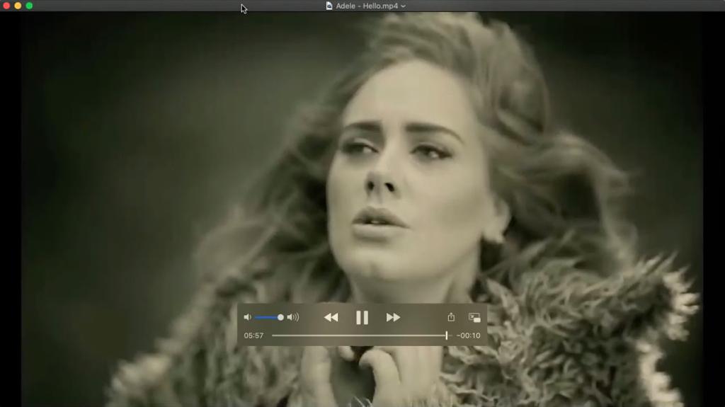 QuickTime - أفضل مشغل فيديو لنظام التشغيل Mac