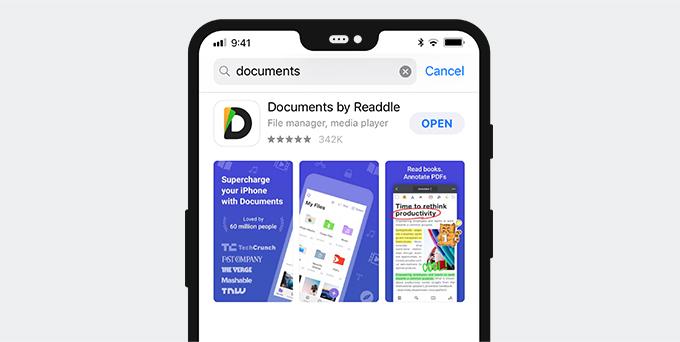 Twitter Video Downloader App für iPhone - Dokumente