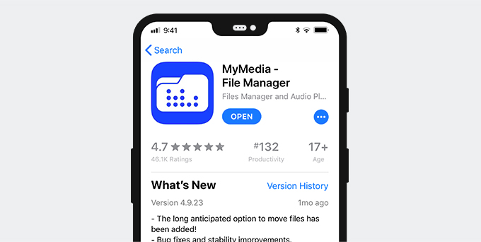Twitter Video Downloader App für iPhone - MyMedia