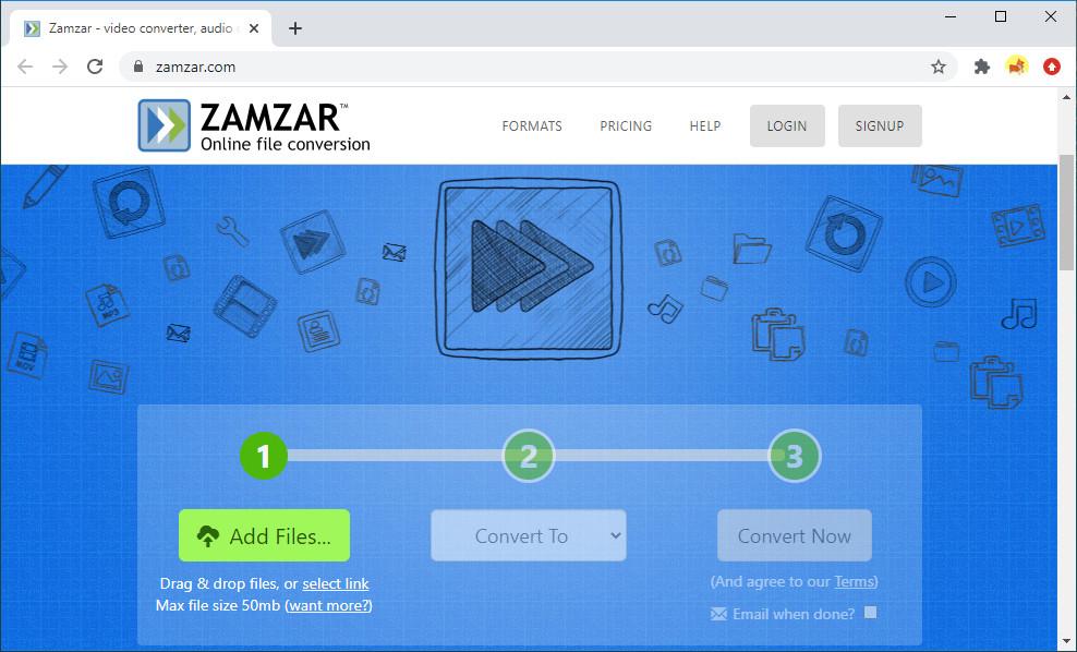 Twitter Video Converter - Zamzar