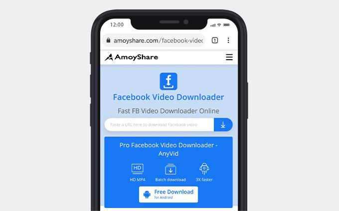 Facebook video downloader for iPhone