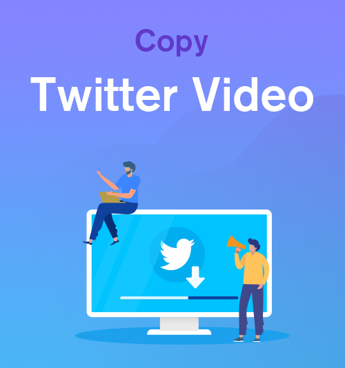 انسخ فيديو Twitter