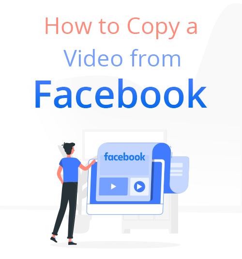 كيفية نسخ مقطع فيديو من Facebook