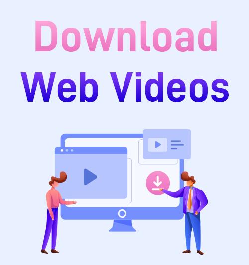 تنزيل مقاطع فيديو الويب
