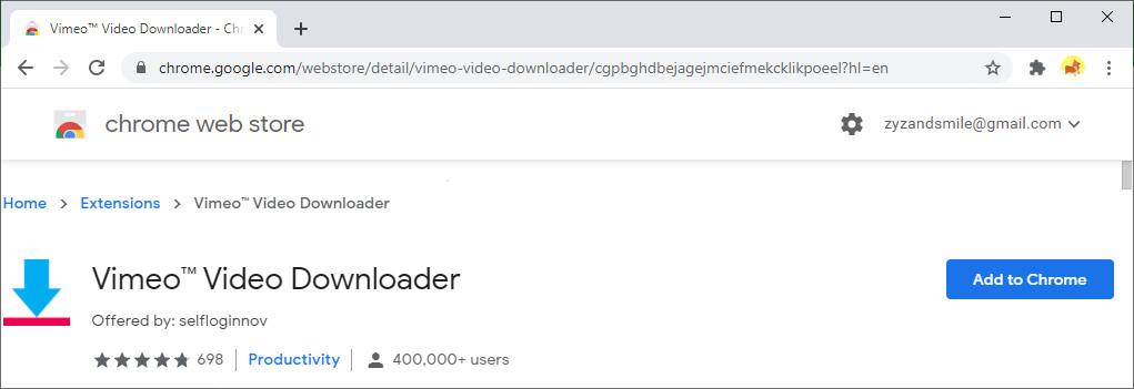 Vimeo ™ Video Downloader