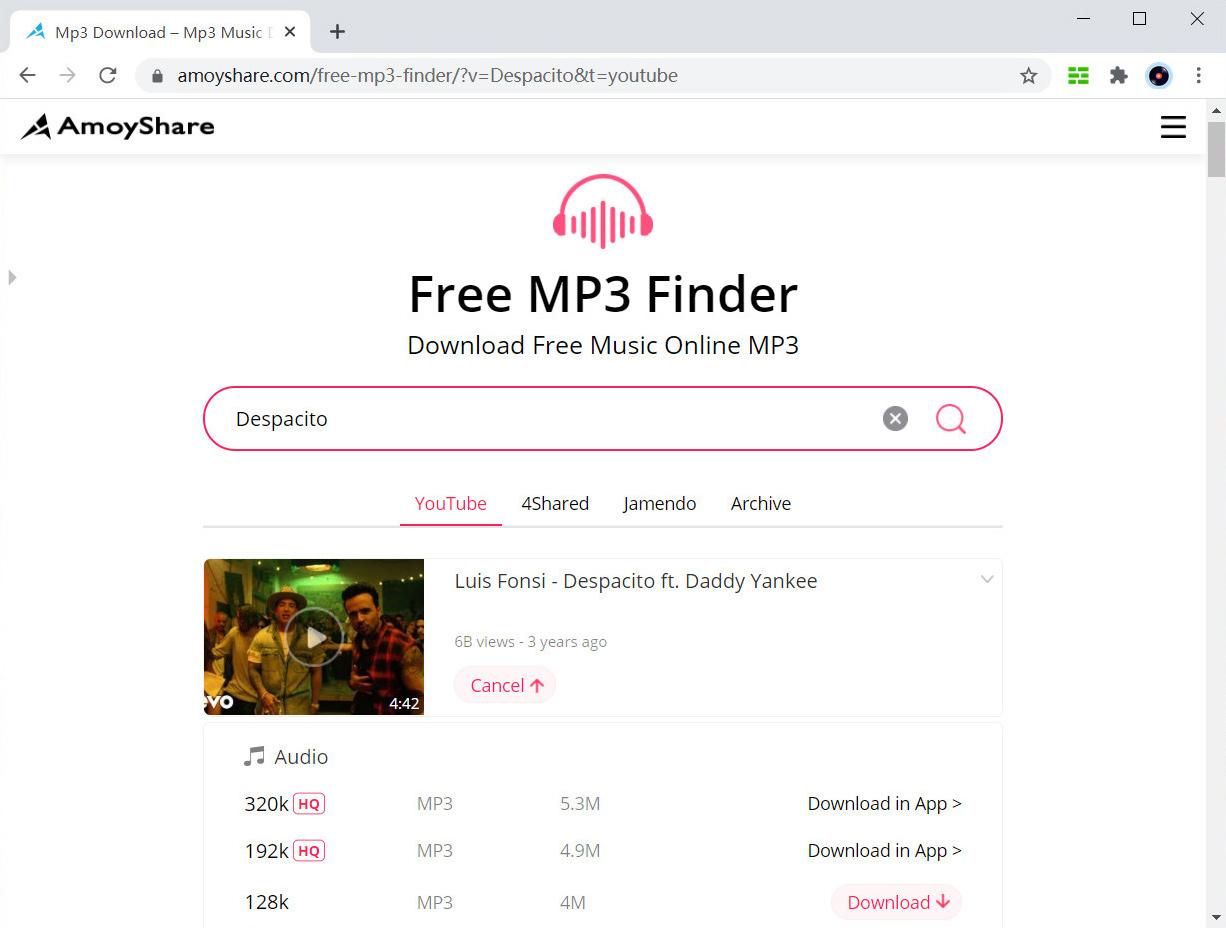 Scarica MP3