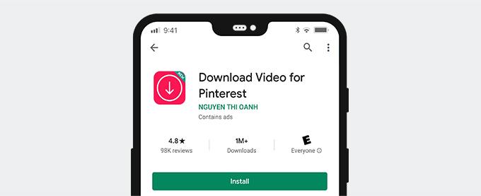 Video für Pinterest herunterladen