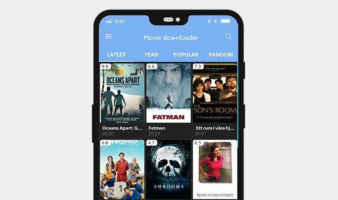 Downloader di film Yts