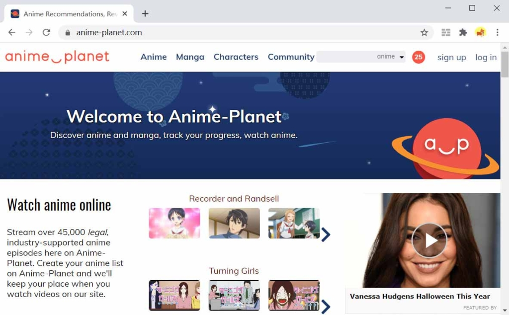 Anime-Pianeta