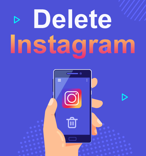 احذف Instagram