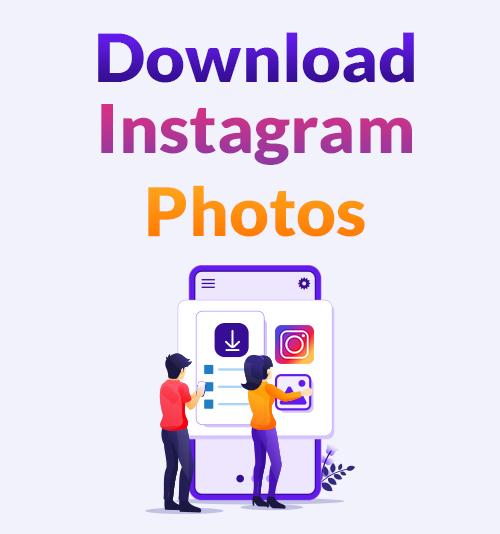Laden Sie Instagram-Fotos herunter