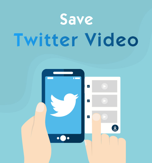 save Twitter video